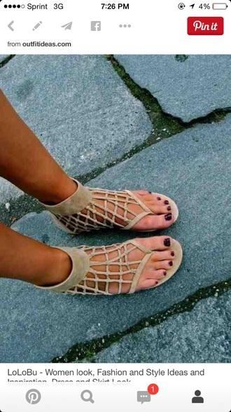shoes sandals brown shoes gladiators
