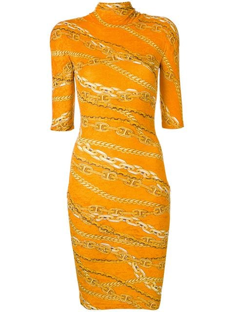 Balenciaga Fitted Turtleneck Mini Dress - Farfetch