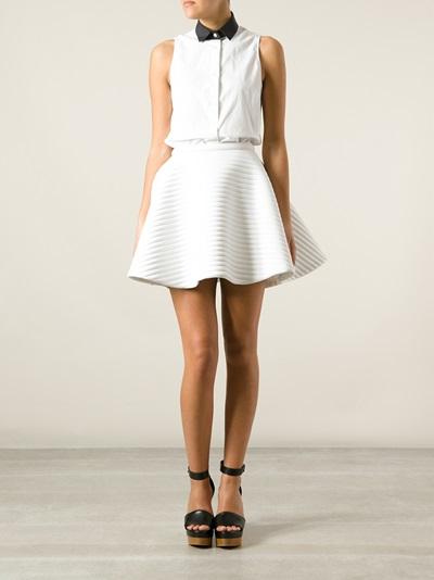 Neil Barrett A-line Skirt - D'aniello - Farfetch.com
