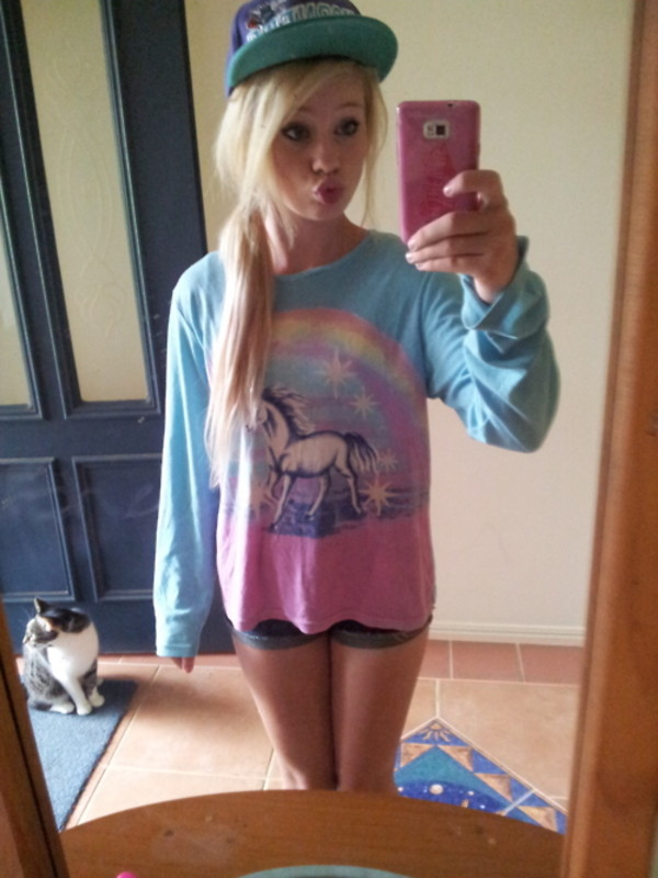 unicorn t-shirt sweater