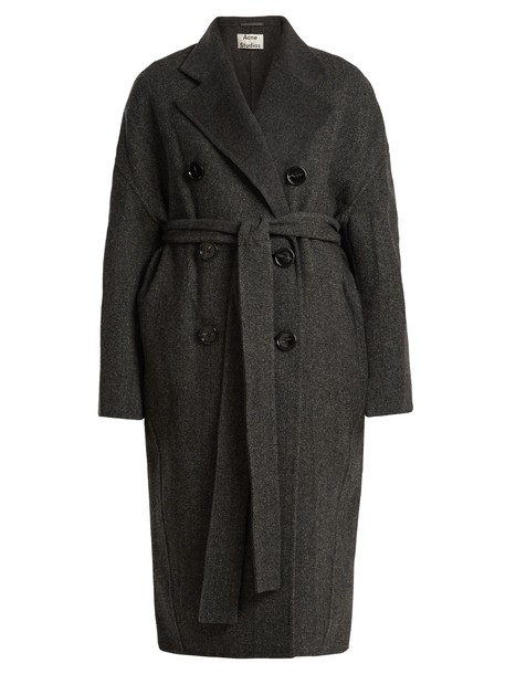 Acne Studios coat wool dark grey