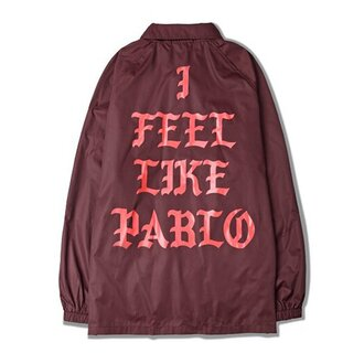 jacket pablo i feel like pablo kanye west the life of pablo life of pablo burgundy burgundy jacket ogvibes ogv