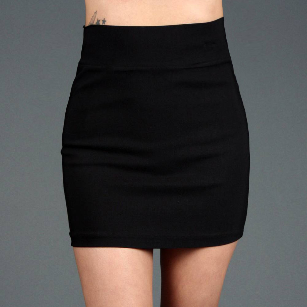 Fitted Mini Skirt - Dress Ala