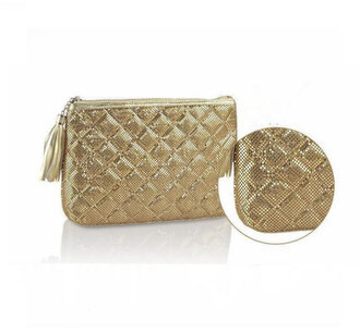 bag bagsq handbags party style stylish style me gold gold sequins casual chic handbag clutch metallic clutch