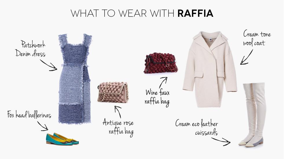 Italian fashion wear, colorful clothes