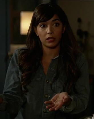 romper new girl hannah simone cece parekh denim