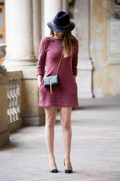 scent of obsession,dress,coat,hat,bag,shoes