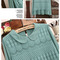 Vintage peter pan collar knit cotton lace contrast chiffon blouse shirt tops | ebay