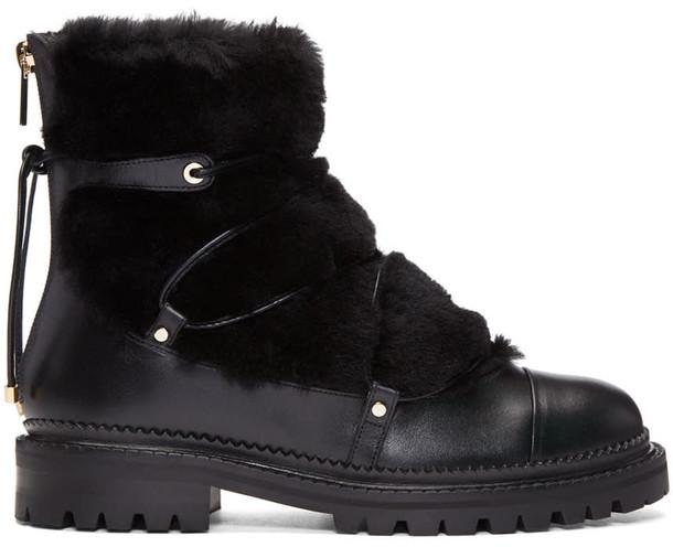 Jimmy Choo black shoes
