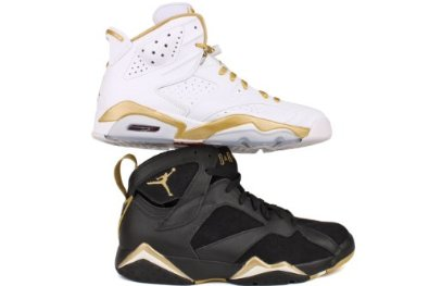 Amazon.com: AIR JORDAN GOLDEN MOMENT PACK MULTI CLR 535357-935: Basketball Shoes: Shoes