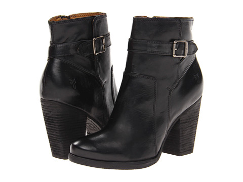 Frye Patty Riding Boot Black Soft Vintage Leather - Zappos.com Free Shipping BOTH Ways