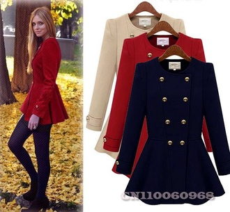coat red coat white coat blue coat trench coat cute coat classy coat jacket