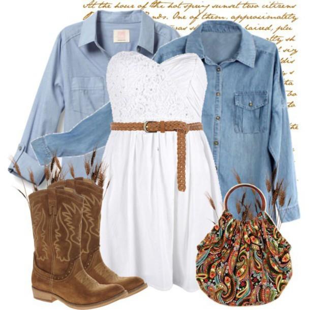 dress cowboy boots bag