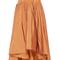 Silk faille ruffled high low skirt | moda operandi