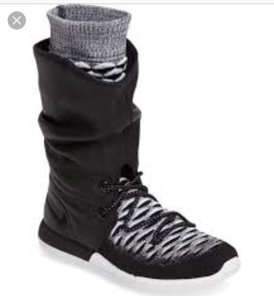 shorts shoes black grey nike nikewomen ankelboot grey sneakers sneakers nike sneakers black sneakers