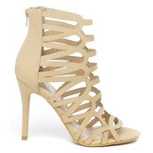 shoes,nude,nude shoes,heels,nude heels,cut-out,cut out shoes