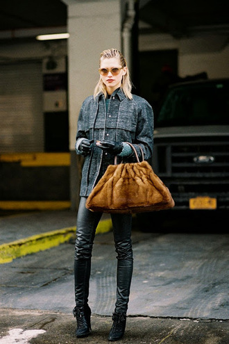vanessa jackman blogger bag jeans shoes