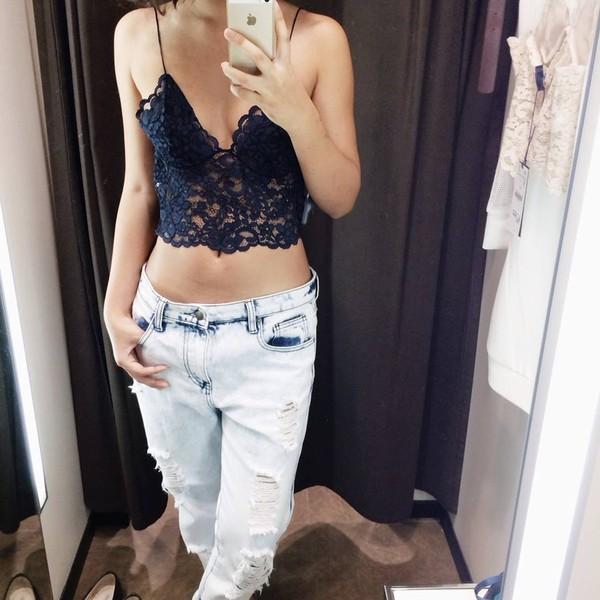 jeans boyfriend jeans shirt skirt