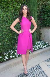 dress,pink,emmy rossum