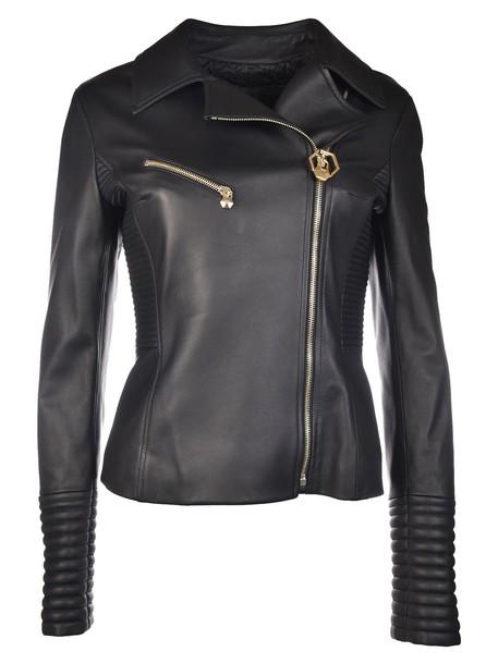 PHILIPP PLEIN jacket biker jacket