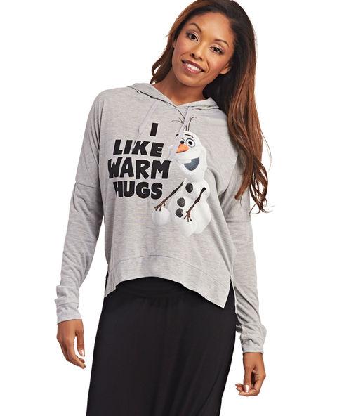 Olaf™ Warm Hugs Hoodie | Wet Seal