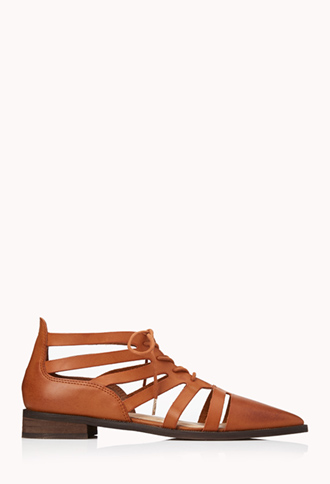Sleek Cutout Oxfords | FOREVER21 - 2000129646