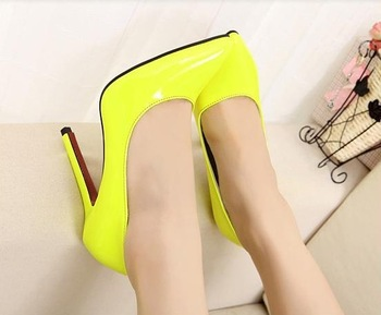 Aliexpress.com : Buy New arrival 2014 woman shoes plus size 35 44 high heel pumps night club model shoes size 12 L 1 from Reliable free 2 day shipping shoes suppliers on New Fashion Shoes