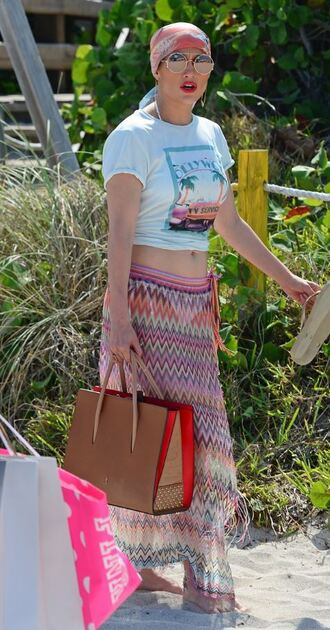skirt top summer outfits wrap skirt summer jennifer lopez