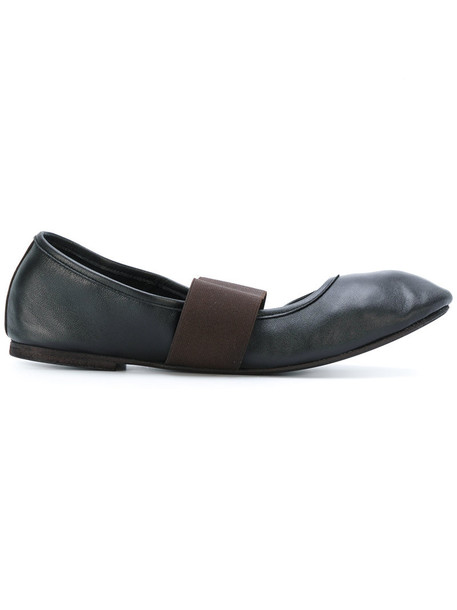 Danielapi women leather black shoes