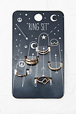 Symbol Rings Pack - Urban Outfitters