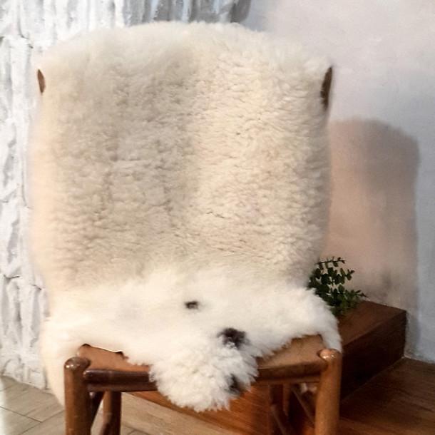 Home Accessory Berber Pelt Works Sheepskin Sheepskin Rug Sheep Skin Rug  Sheepskin Throw Scandinavian Style Home