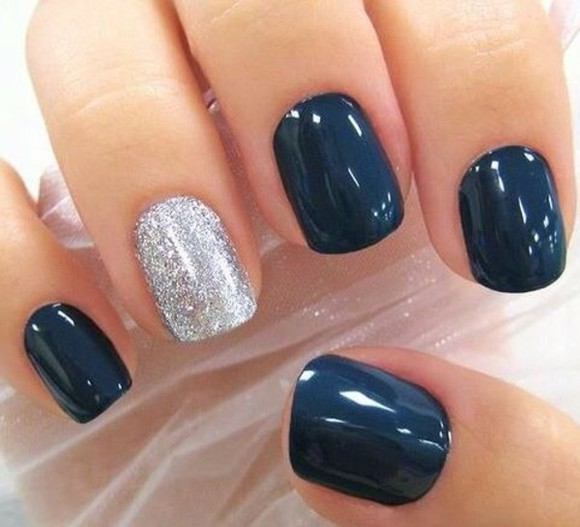 nail polish blue dark blue blue nail polish