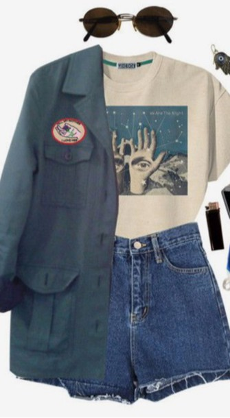 shorts grunge shorts rock grunge