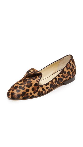 Sarah Flint Andrea Flats - Chocolate Leopard