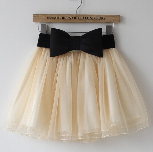 Lace bow skirt my0028fy