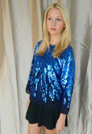 Vintage Sparkle long sleeved top | VintageDesignerWarehouse | ASOS Marketplace