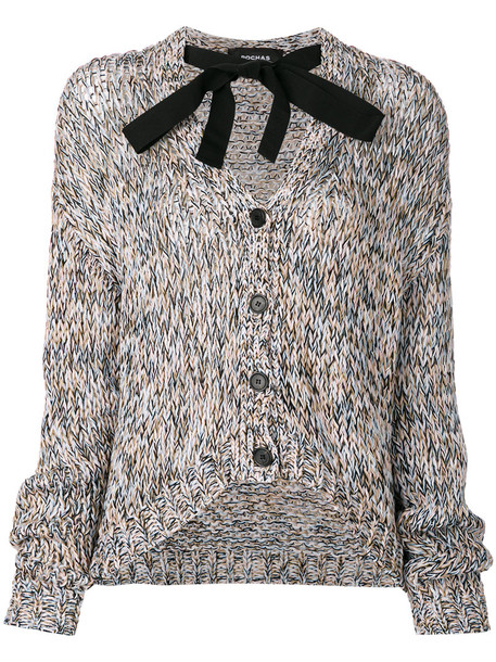 Rochas cardigan cardigan women cotton sweater