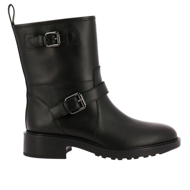 Hogan women booties black shoes