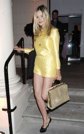 romper,laura whitmore,yellow