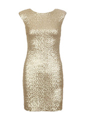 Sirenlondon — gold and dream dress