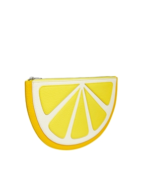 Monki | Monki Lemon Clutch at ASOS