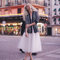 White tea length tulle skirt / adult tutu midi skirt - made to order