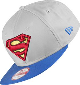 New Era Team Hero Snap Superman Kappe grau blau