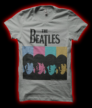 Beatles at catacombs band merch