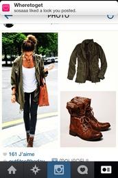 jacket,shoes