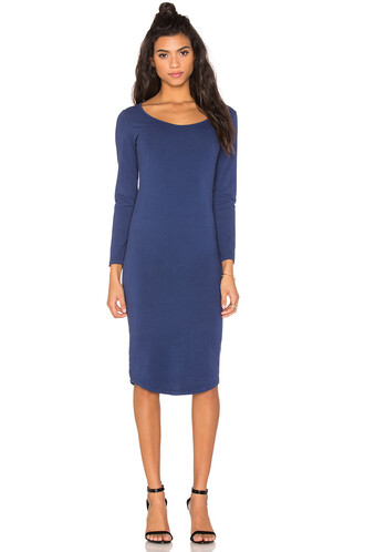 dress long sleeve dress long navy