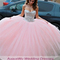 2015 stunning ball gown quinceanera dresses sweetheart crystal vestido de festa floor length pink tulle formal party gowns-in quinceanera dresses from weddings & events on aliexpress.com | alibaba group