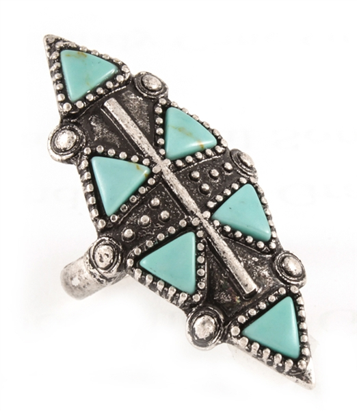 Turquoise Treat Ring