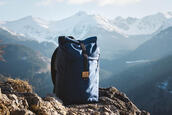 bag,backpack,rucksack,rolltop backpack,sac a dos,nature,outdoors,mountain,mens accessories