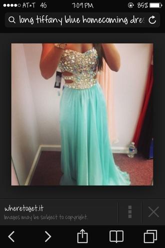 prom dress homecoming dress cut out dress dress green dress sequin dress